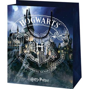 Harry Potter: Hogwarts mintás exklúzív dísztasak - 17 x 10 x 23 cm