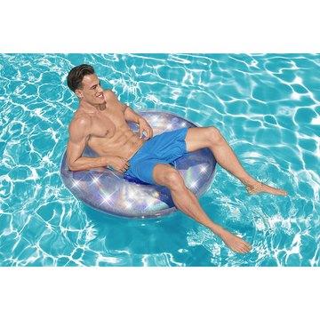 Bestway: Színjátszó mintás úszógumi - 107 cm - . kép