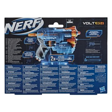 Nerf: Elite 2.0 Volt Sd-1 játékfegyver 6 darab szivacslövedékkel - CSOMAGOLÁSSÉRÜLT - . kép