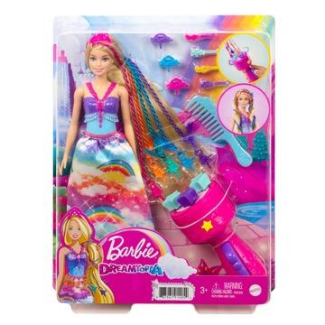 Barbie Dreamtopia: Păpușă prințesă cu împletituri fabuloase - .foto