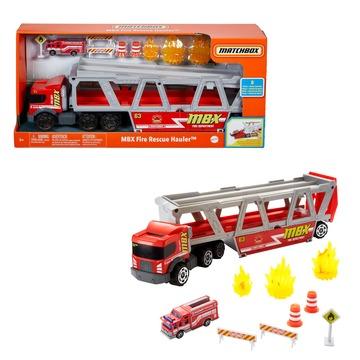 Matchbox: Tűzoltósági trailer kiegészítőkkel