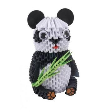 Creagami: 3D origami készlet, nagy - Panda