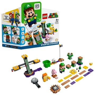 LEGO® Super Mario Luigi kalandjai kezdőpálya 71387