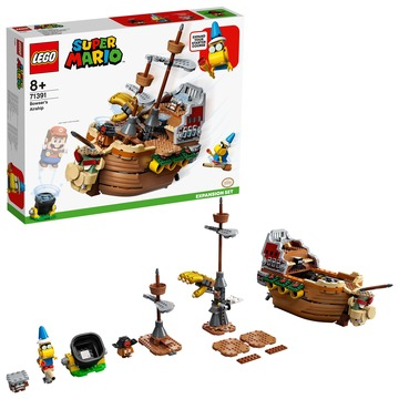 LEGO Super Mario: Set de extindere Nava zburătoare a lui Bowser - 71391