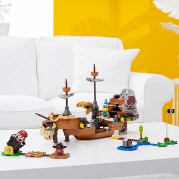LEGO Super Mario: Set de extindere Nava zburătoare a lui Bowser - 71391 - .foto