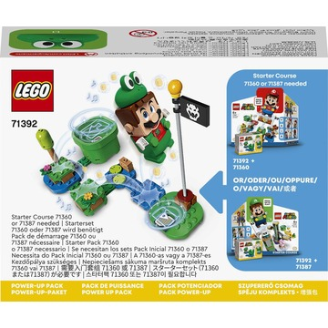 LEGO Super Mario: Pachet de puteri suplimentare Mario Broască - 71392 - .foto