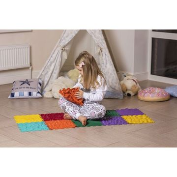 Ortho Puzzle: Ortopédiai masszázs szőnyeg - Hullámok - . kép