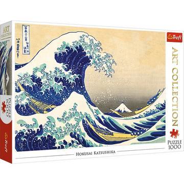 Trefl: Marele val de la Kanagawa - puzzle cu 1000 piese
