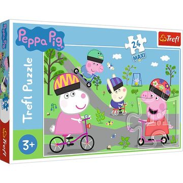 Trefl: Peppa malac Maxi puzzle - 24 darabos