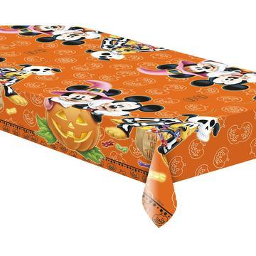 Halloween Mickey egérrel műanyag asztalterítő, 120 x 180 cm