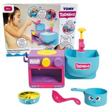 Tomy Toomies: Buborékkészítő konyha szett 2 az 1-ben