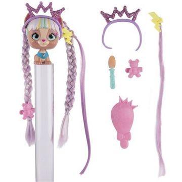 I Love VIP Pets: Cățeluș cu coafură fabuloasă - Mini-figurină surpriză - .foto
