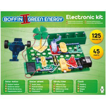 Boffin II Zöld Energia elektromos építőkészlet