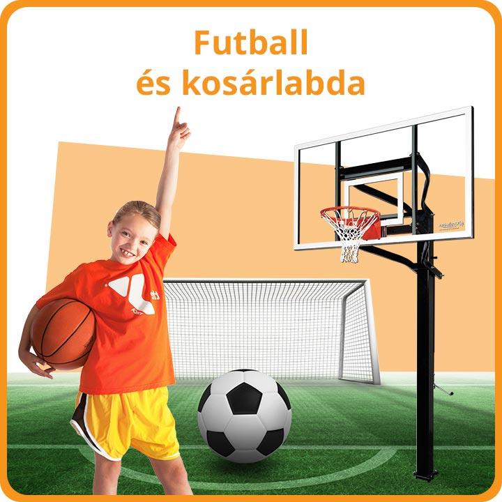 Futball és kosárlabda
