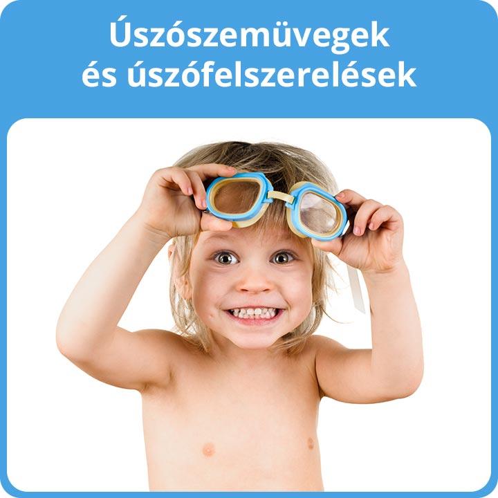 Úszószemüvegek és úszófelszerelések
