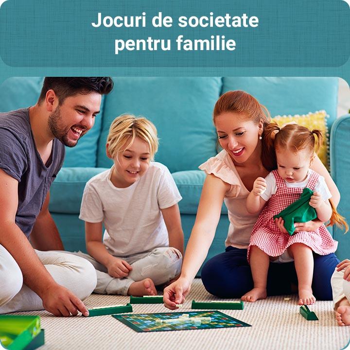 Jocuri de societate pentru familie