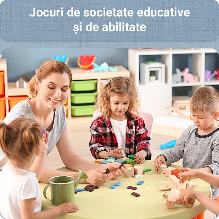 Jocuri educative şi de abilitate