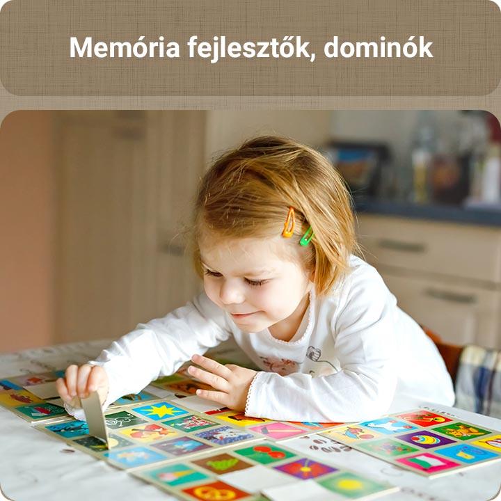 Memória fejlesztők, dominók