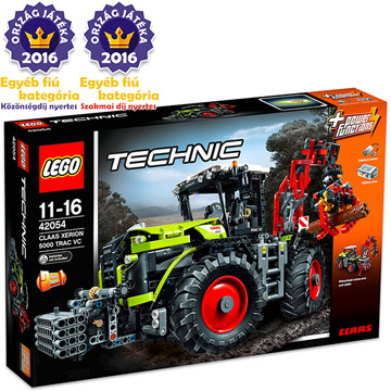 LEGO TECHNIC: CLAAS XERION 5000 TRAC VC 42054
