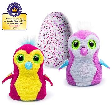 Hatchimals: Penguella rózsaszín tojásban