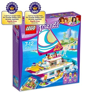 LEGO Friends: Napsütötte katamarán 41317